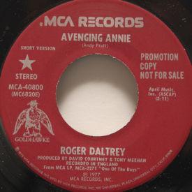 Roger Daltrey - Avenging Annie