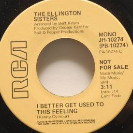 Ellington Sisters - I Better Get Used To This Feeling