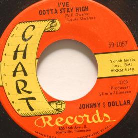 Johnny Dollar - I've Gotta Stay High