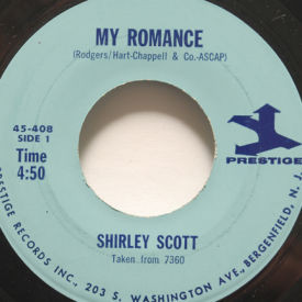 Shirley Scott - My Romance/Where Or When