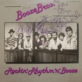 Booze Brothers Revue - Rockin' Rhythm 'n' Booze – AUTOGRAPHED