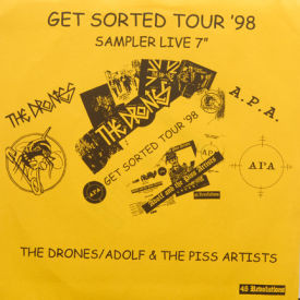 Drones/Adolf & The Piss Artists - Get Sorted Tour '98 Sampler