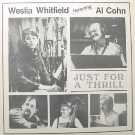 Weslia Whitfield featuring Al Cohn - Just For A Thrill