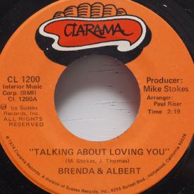 Brenda & Albert - Talking About Loving You/This Has Happened Before