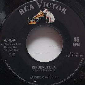 Archie Campbell - Rindercella/Hockey Here Tonight