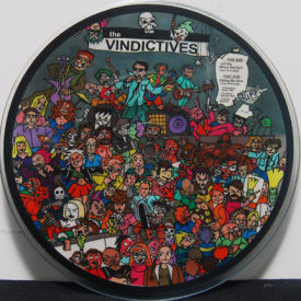 Vindictives - Johnny, Where Are You?/Eating Me Alive – Picture Disc