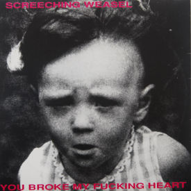 Screeching Weasel - You Broke My Fucking Heart