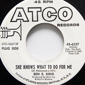Ben E King - She Knows What To Do For Me