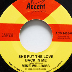 Mike Williams - Do What You Wanna Do/She Put The Love Back In Me