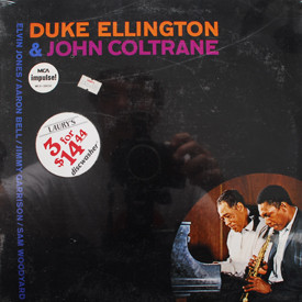 Duke Ellington and John Coltrane - Duke Ellington and John Coltrane (sealed)