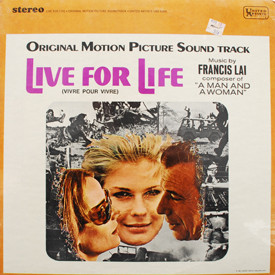 Francis Lai - Live For Life (sealed)