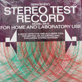 Stereo Review - Stereo Review's Stereo Test Record Model SR12