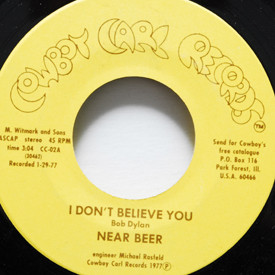 Near Beer - Bright Lights/I Don't Believe You