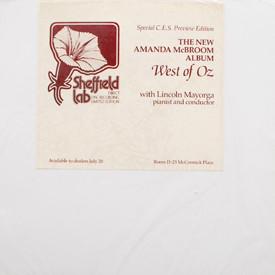 Amanda McBroom - West Of Oz (sealed)