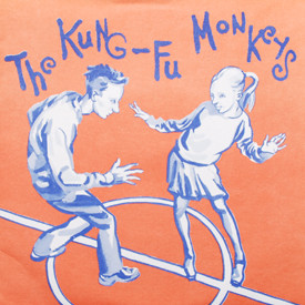 Kung-Fu Monkeys - Arizona/Angel/Thermos/All The Time