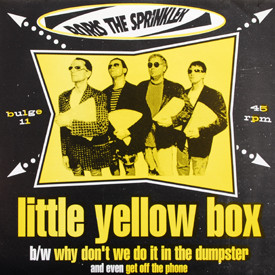 Boris The Sprinkler - Little Yellow Box