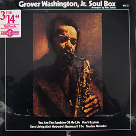 Grover Washington, Jr. - Soul Box Vol. 2 (sealed)