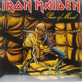 Iron Maiden - Piece Of Mind (still in shrink)
