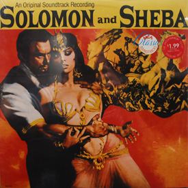 Soundtrack - Solomon And Sheba (sealed)