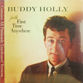 Buddy Holly - For The First Time Anywhere (sealed)
