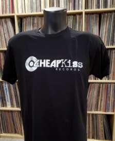Cheapkiss - Cheap Kiss Records Men's Small Black T-Shirt