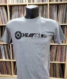 Cheapkiss - Cheap Kiss Records Men's Small Grey T-Shirt