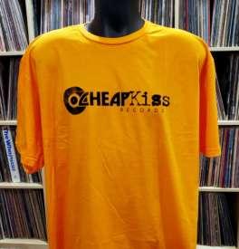 Cheapkiss - Cheap Kiss Records Men's XXL Orange T-Shirt