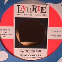 Kenny Chandler - Leave Me If You Want To / Man On The Run