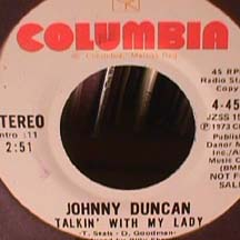Johnny Duncan - Talkin With My Lady