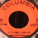 Marion Worth - Lover's Hymn/ It's Only so Funny I could cry