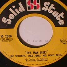 Williams, Joe/ Jones, Thad/ Lewis, Mel - Evil Man Blues