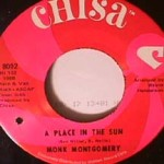 Monk Montgomery - Place in the Sun/ Your Love