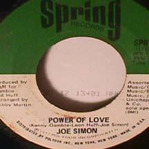 Joe Simon - Power Of Love / Mirror Don't Lie