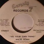 Willie Hobbs - Do Your Own Thing