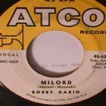 Bobby Darin - Milord/ Golden Earrings
