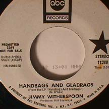 Jimmy Witherspoon - Handbags and Gladrags/ Stay with me Baby