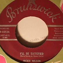 Jackie Wilson - Ask / I'll Be Satisfied