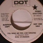 Roni Stoneman - You Make Me Feel Like Singing/ I'm Gonna Keep on