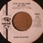 Barry Richards - Stop in the Name of Love