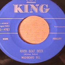 Washboard Bill - River Boat Dock/ In the Morning