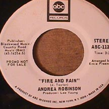 Andrea Robinson - Fire and Rain