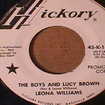 Leona Williams - Boys and Lucy Brown/ Country Music in my soul