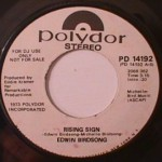 Edwin Birdsong - Rising Sign