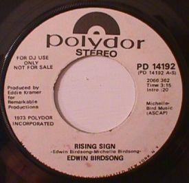 Edwin Birdsong - Rising Sign