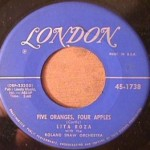 Lita Roza - You're Not Alone/ Five Oranges, four Apples
