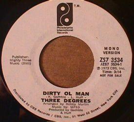 Three Degrees - Dirty Ol Man