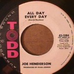 Joe Henderson - All Day Every Day/ You Can't Lose