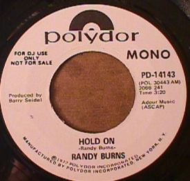 Randy Burns - Hold On