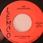 Wellingtons - Oom Bah-Di-Ay / Don't Leave Me