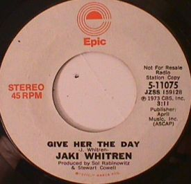 Jaki Whitren - Give her the Day